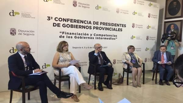 Rosario Cordero participa en la III Conferencia de Presidentes Provinciales