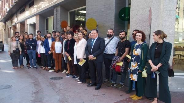 Lovisual conquista los escaparates de Logroño por segundo año