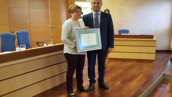 Entrega del IV Premio de Proyectos de Fomento de la Cultura Emprendedora.