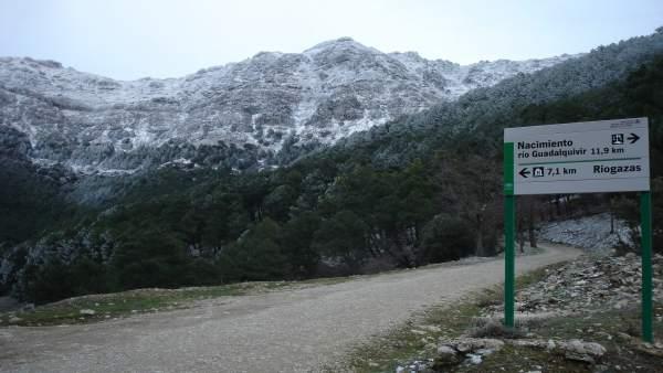 Parque de Cazorla, cerca del nacimiento del río Guadalquivir