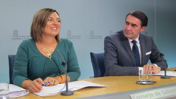 Marcos y Suárez-Quiñones tras el Consejo de Gobierno