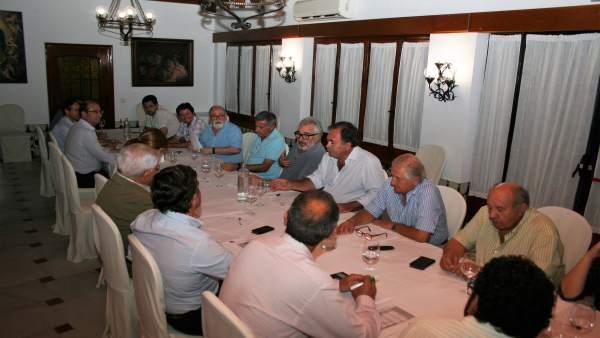 Reunión de la sectorial vitivinícola de Asaja