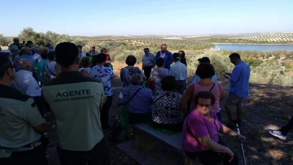 Participantes en 'Mayores y Medio Ambiente'