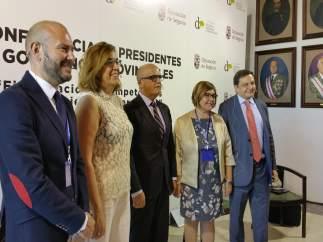Segovia: Participantes en una de las mesas del Congreso