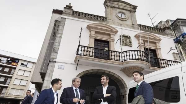 Visita a los juzgados de Santoña