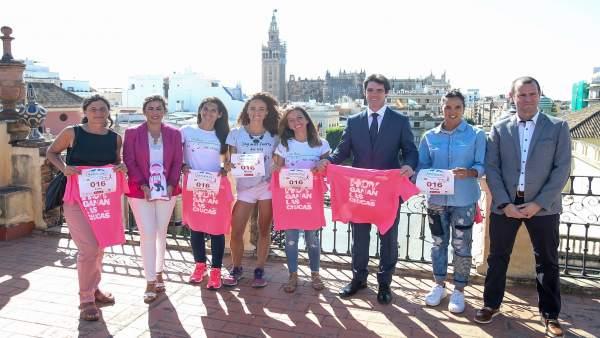 Presentación de la Carrera de la Mujer de Sevilla