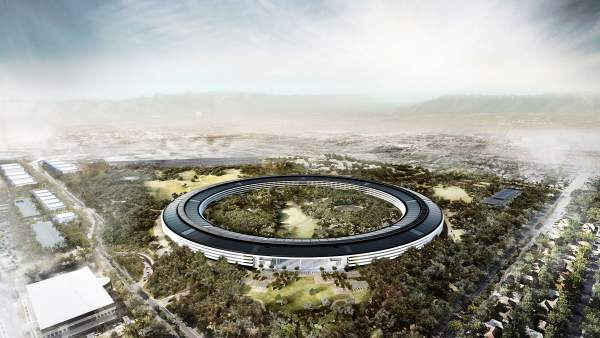 Apple Park, Proyecto para la sede de Apple de Norman Foster