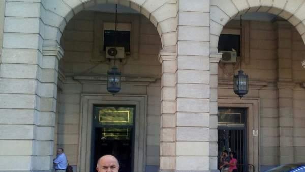 Mariano Pradas ante la Audiencia Provincial.