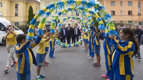 Actos conmemorativos del 35 aniversario del colegio El Salvador de Barreda