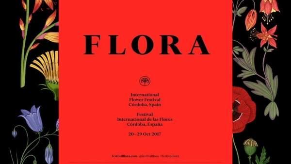 Cartel del Festival Internacional de las Flores de Córdoba, Flora