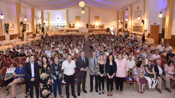 Vera ha acogido los actos del Día del Mayor en la zona Levante-Norte.