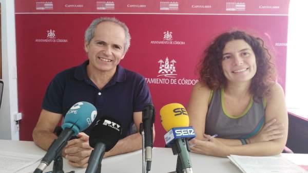 Blázquez y López en la rueda de prensa