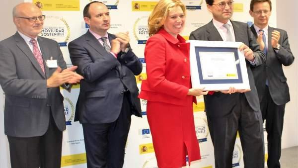 Málaga, premiada en los Premios de la Semana Española de la Movilidad