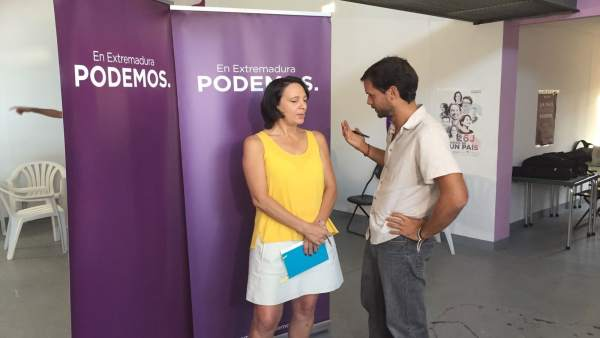 Carolina Bescansa y Álvaro Jaén