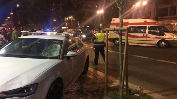 Atropello en València