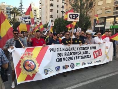 Manifestación de Jusapol