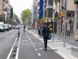 Les obres a les avingudes Paral·lel i Pere IV (a la imatge), a Barcelona, han estat algunes de les més ambicioses en les que ha participat l'AMB.