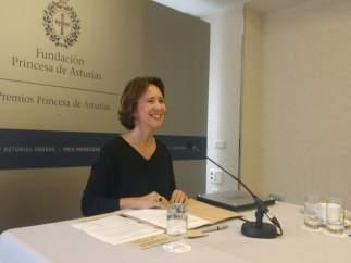 La directora de la Fundación Princesa, Teresa Sanjurjo.