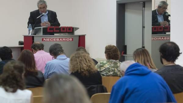 Carlos Sánchez presenta su informe de gestión