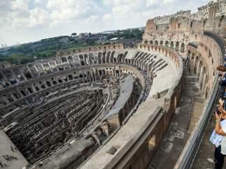 Coliseo de Roma.