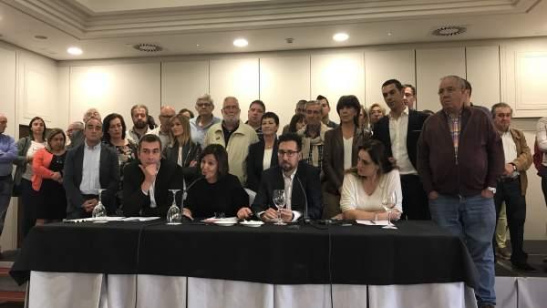 Cargos públicos del PSOE pide a Zuloaga que ponga fin a inestabilidad