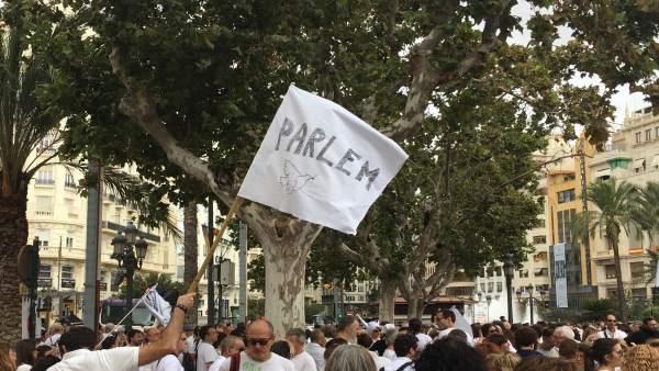 Manifestación en València