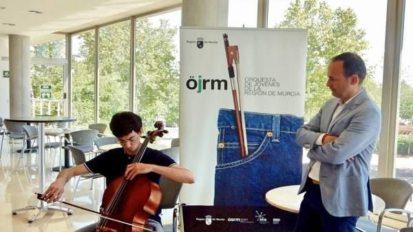 Incritos para la Orquesta de Jóvenes de la Región de Murcia