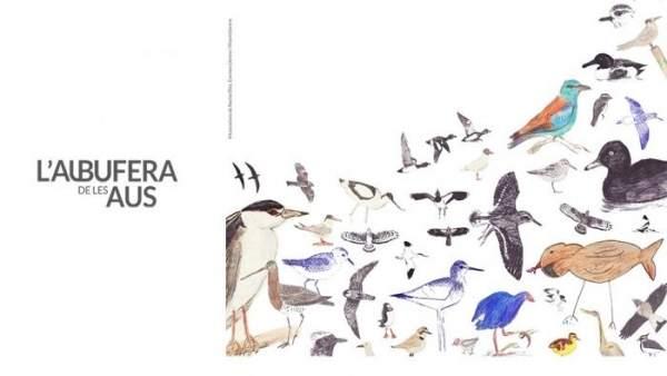 Cartel de L'Albufera de les aus