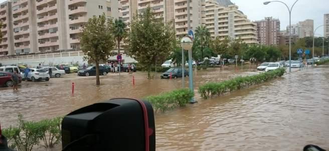 Inundaciones en Alicante
