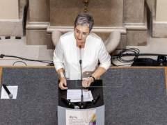 La vicepresidenta del Parlamento Europeo, Ulrike Lunacek.
