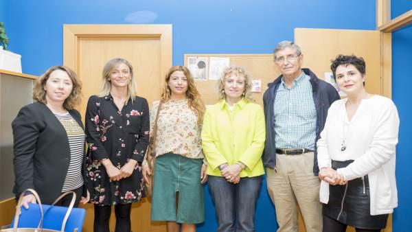 Díaz Tezanos visita el Centro de Atención a la Mujer de Castro