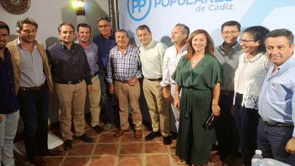 Congreso del PP de Benalup (Cádiz), con la asistencia de Antonio Sanz