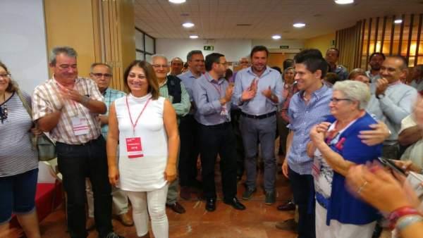 Teresa López se impone a Ceciclio Vadillo en primarias y dirigirá el PSOE de Val