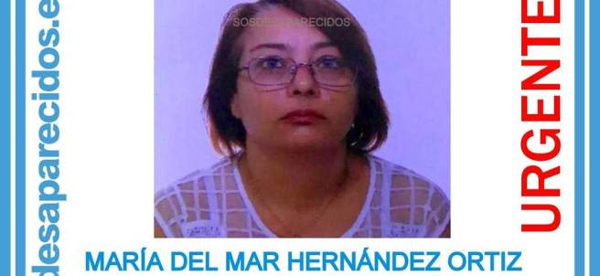 Imagen de la desaparecida.