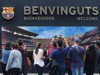 Aficionados Camp Nou
