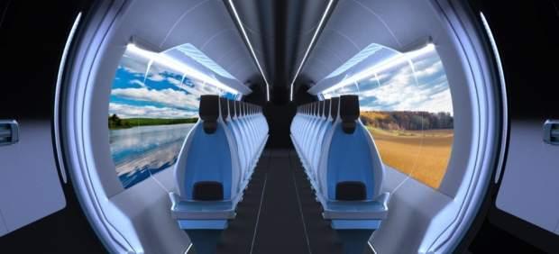 Imagen del Hyperloop UPV