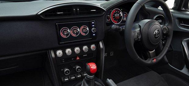 Interior del Toyota GR HV SPORTS concept