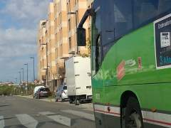 La huelga de autobuses en la sierra oeste de Madrid será indefinida desde este lunes