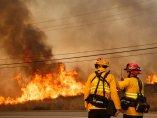 Las llamas devastan California