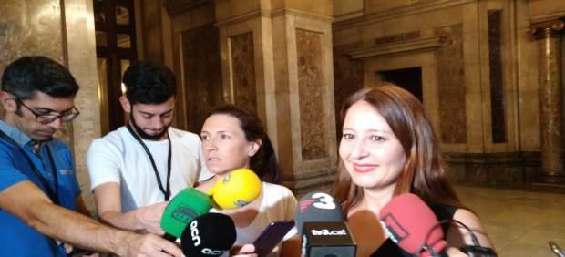 La diputada de Cs en el Parlament Sonia Sierra.