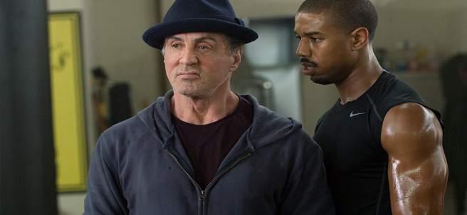 Sylvester Stallone y Michael B. Jordan en 'Creed'
