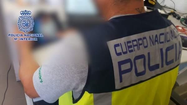 Policía pornografía