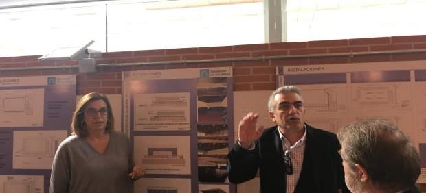 Palencia: Armisén presenta las mejoras del Polideportivo