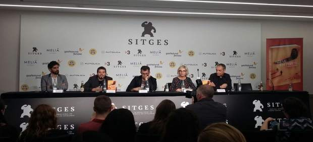 Presentación de la novela 'Nieve en Marte', de P.Tébar