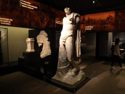 Exposición 'El poder del pasado. 150 años de arqueología en España' en el Museo Arqueológico Nacional