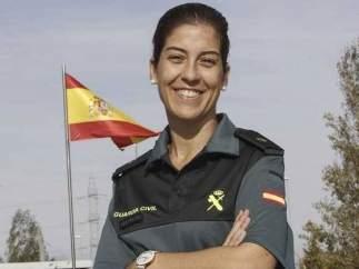 María Jesús Pascual, comandante jefe de la Guardia Civil de Cáceres