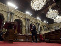 La ofensiva soberanista protagoniza hoy la constitución del Parlament