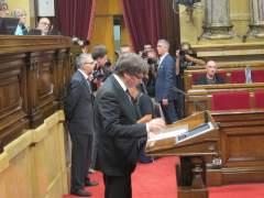 El Senado invita a Puigdemont a comparecer el jueves o viernes