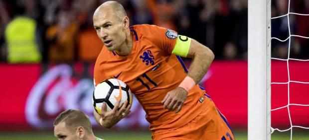 Gol de Robben