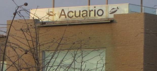 El acuario se encuentra en la zona de la Expo